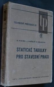 náhled knihy - Statické tabulky pro stavební praxi