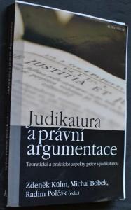 náhled knihy - Judikatura a právní argumentace : teoretické a praktické aspekty práce s judikaturou