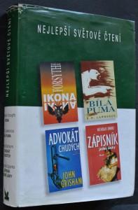 náhled knihy - Ikona; Bílá puma; Advokát chudých; Zápisník jedné lásky