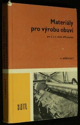 náhled knihy - Materiály pro výrobu obuvi pro 2. a 3. ročník SPŠ kožařské