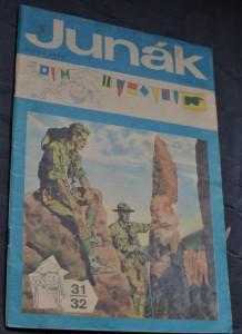 náhled knihy - Junák - týdeník junácké mládeže ročník 32 31-32/1970