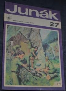 náhled knihy - Junák - týdeník junácké mládeže, ročník 32, č. 27/1970