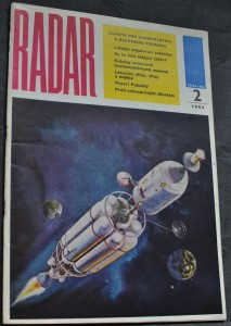 náhled knihy - Radar časopis pro kosmonautiku a raketovou techniku, č. 2, 1964