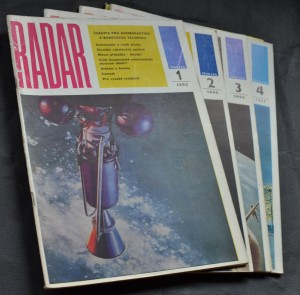 náhled knihy - Radar časopis pro kosmonautiku a raketovou techniku, č. 1-4, 1965