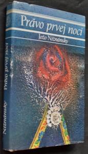 náhled knihy - Právo prvej noci