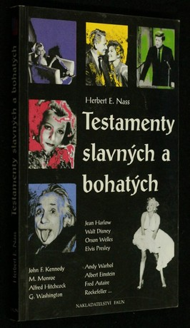 náhled knihy - Testamenty slavných a bohatých