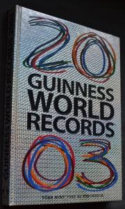 náhled knihy - Guiness world records 2003 (maďarsky)