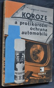 náhled knihy - Koroze a protikorozní ochrana automobilů