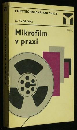 náhled knihy - Mikrofilm v praxi