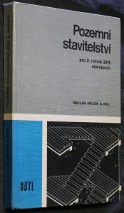 náhled knihy - Pozemní stavitelství pro 2. ročník středních průmyslových škol stavebních studijního oboru Pozemní stavby