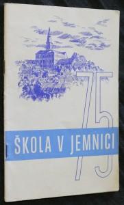 náhled knihy - Škola v Jemnici