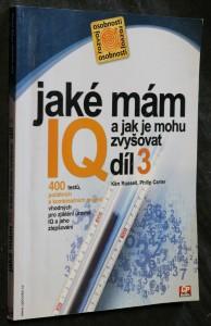 náhled knihy - Jaké mám IQ? A jak je mohu zvyšovat? 3. díl