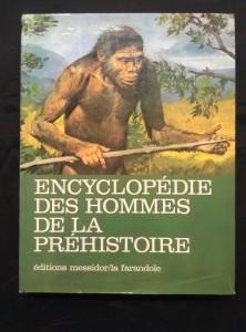 náhled knihy - Encyclopédie des Hommes  de la Préhistoire (A4, Ocpl, 230 s., 162 bar. il. Z. Burian)