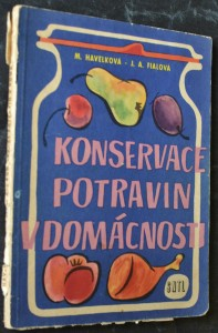 náhled knihy - Konservace potravin v domácnosti
