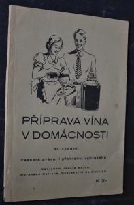 náhled knihy - Příprava vína v domácnosti