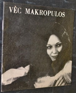 náhled knihy - Věc Makropulos : komedie o třech dějstvích s přeměnou