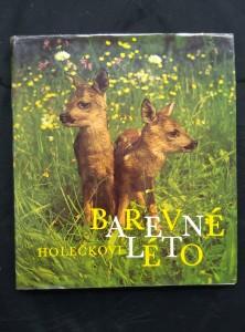 náhled knihy - Barevné léto (zvířata ve volné přírodě)