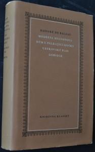 náhled knihy - Modesta Mignonová ; Dům u pálkující kočky ; Venkovský ples ; Gobseck