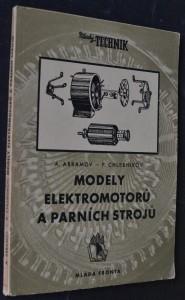 náhled knihy - Modely elektromotorů a parních strojů
