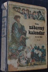 náhled knihy - Velký zábavný kalendář na rok 1900, I. díl