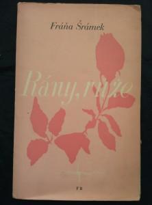 náhled knihy - Rány, růže (Obr, 96 s., ob. Josef Hochman)