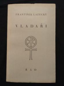 náhled knihy - Vladaři (Obr, 102 s., ob a typo V. Renč)