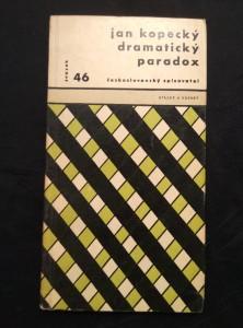 náhled knihy - Dramatický paradox (Obr, 136 s., 8 s fotopříl., ob a  typo Z. Seydl)