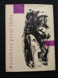 náhled knihy - Básníkova první láska (Ocpl, 72 s., ob a  il. Z. Brdlík)