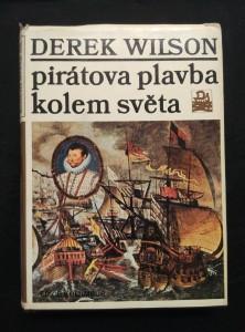 náhled knihy - Pirátova plavba kolem světa - Francis Drake (Ocpl, 248 s.)