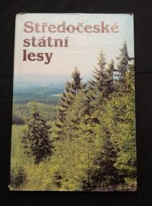náhled knihy - Středočeské státní lesy (A4, 128 s., čb a bar foto)