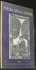 náhled knihy - Polska sztuka ludowa, rok IX. č. 3