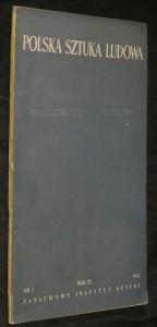 náhled knihy - Polska sztuka ludowa, rok IX. č. 5