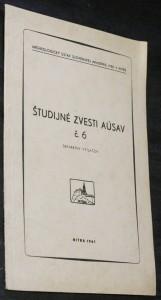 náhled knihy - Študijné zvesti AÚSAV č. 6