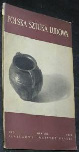 náhled knihy - Polska sztuka ludowa, rok VIII. č. 5