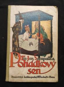 náhled knihy - Pohádkový sen (Oppl, 200 s., il. J. Wenig, uvol. vaz.)