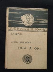 náhled knihy - Ona a oni - prolog o polské lit. K. Handzel (Ocpl, 152 s.)