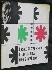 náhled knihy - Československý film hledá nové hvězdy