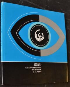 náhled knihy - Katalog přístrojů ZVS Meopta, k. p., Přerov