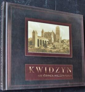 náhled knihy - Kwidzyn na starych pocztówkach