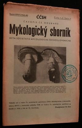 náhled knihy - Mykologický sborník: časopis československých houbařů 1948-49 č. 1-3. sešit 1