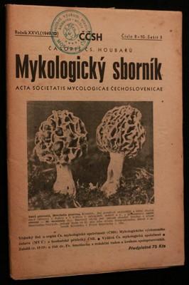náhled knihy - Mykologický sborník: časopis československých houbařů 1949-50 č. 8-10. sešit 3