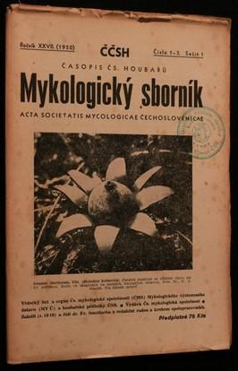 náhled knihy - Mykologický sborník: časopis československých houbařů 1950 č. 1-3. sešit 1