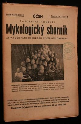 náhled knihy - Mykologický sborník: časopis československých houbařů 1950 č. 4-6. sešit 2