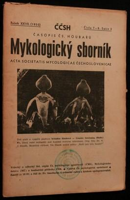 náhled knihy - Mykologický sborník: časopis československých houbařů 1950 č. 7-8. sešit 3