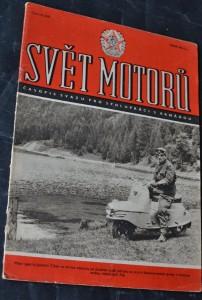 náhled knihy - Svět motorů 1956, č. 15