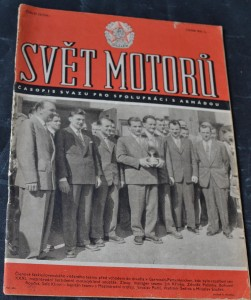 náhled knihy - Svět motorů 1956, č. 22