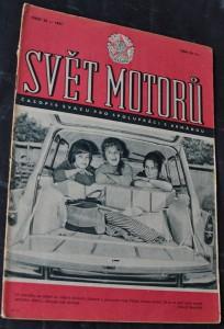 náhled knihy - Svět motorů 1961, č. 23
