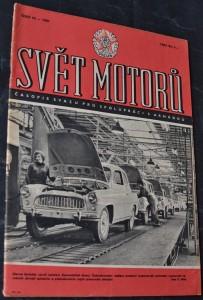 náhled knihy - Svět motorů 1961, č. 10