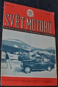 náhled knihy - Svět motorů 1961, č. 6