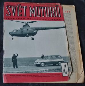 náhled knihy - Svět motorů 1963, č. 4